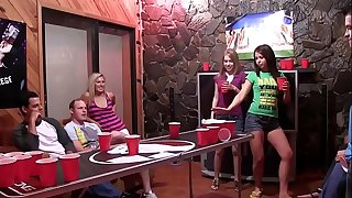 COLLEGE RULES -  College Students Playing Hook-up Games In Dorm