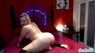 CamSoda - Alexis Texas Big Ass Masturbation in Bedroom