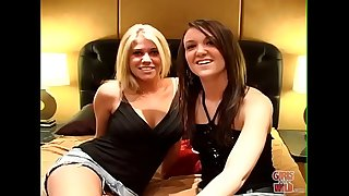 GIRLS GONE Naughty - Teen Besties Jessica and Ashleigh Get Convenient With Each Other After The Party