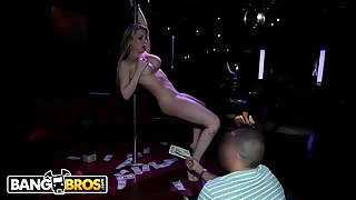 BANGBROS - Mummy With Big Tits, Courtney Cumz, Strips And Fucks In The Club