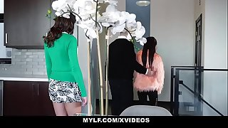 MYLF - Puny Asian Loves Eating Sexy Mylf Pussy